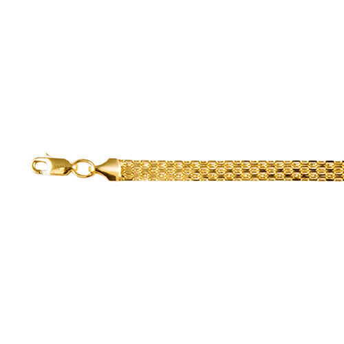 Chain Necklace with Lobster Clasp in 9K Gold 20 Inch