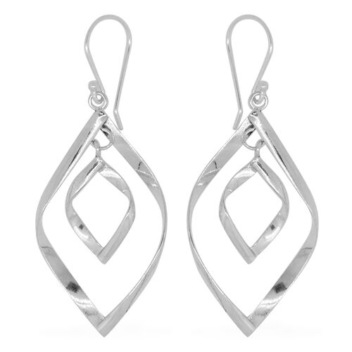 Royal Bali Collection Sterling Silver Hook Earrings, Silver wt. 4.95 Gms.