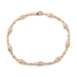 Royal Bali Collection - 9K Yellow Gold Bracelet (Size 7.5), Gold wt 5.74 Gms