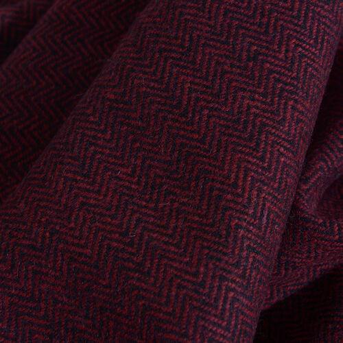 Red Colour Designer Muffler Scarf (Size 170x35 Cm)