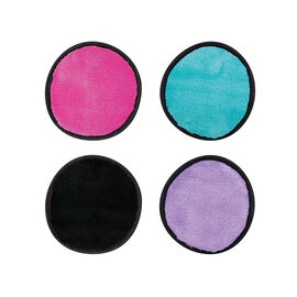 Danielle: Erase Your Face Co Makeup Removing Round Pads - Bright (4 Pack)