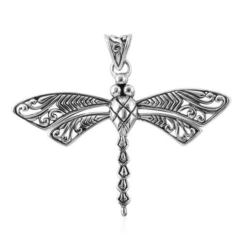 Bali Legacy Collection Sterling Silver Dragonfly Pendant