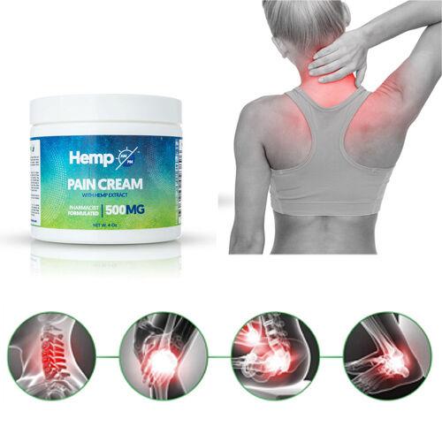 Hemp AM PM: Pain Relief Cream (500mg) - 118ml