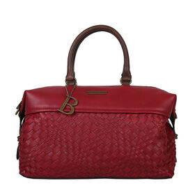 Bulaggi Collection- Bryon Bun Handbag (Size 31x18x13 Cm) - Red