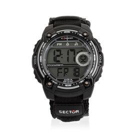 SECTOR NO LIMITS - Street Digital Black Strap Watch