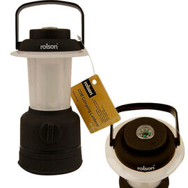 ROLSON COB Camping Lantern with Frosted Screen (3AA Battery Included) (16x8 Cm)