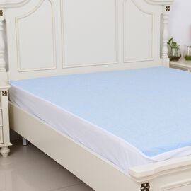 Smartkool Jersey Cooling Waterproof Fitted Mattress Protector King Size (150x200)