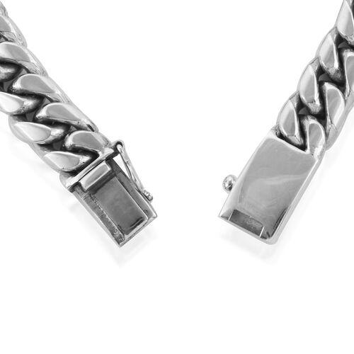 Royal Bali Collection Sterling Silver Snake Bone Bracelet (Size 8), Silver wt 60.68 Gms.