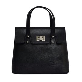 Assots London BENTLEY Lizard Designer Genuine Leather Grab Bag with Detachable and Adjustable Should