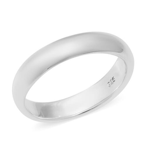 Plain Band Ring in Sterling Silver 3.72 Grams