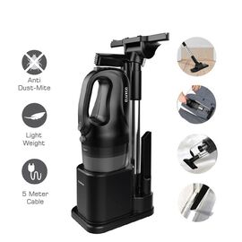Multi Purpose Cyclone Vacuum Cleaner with 500cm BS Plug (Includes 1xCrevice Suction Tool, 1xMattress
