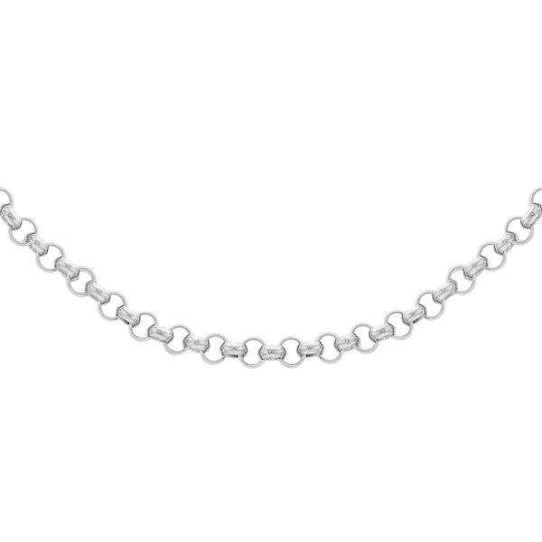 Sterling Silver Mini Belcher Chain (Size 16) with Lobster Clasp