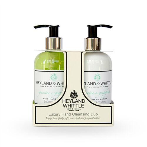 Heyland & Whittle: Greentea & Grapefruit Hand Wash, Hand Lotion