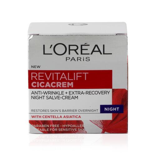 LOreal: Revitalift Cica Cream Night - 50ml