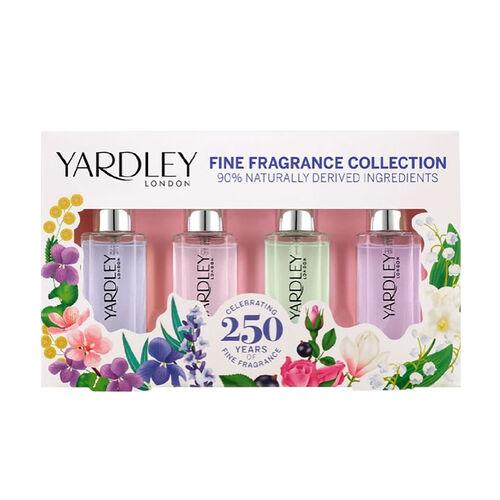 Yardley: Miniature 4 Piece Set (Eau De Toilette - 10ml)
