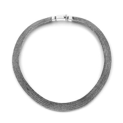 Limited Available- Royal Bali Collection Sterling Silver Necklace (Size 19), Silver wt 111.85 Gms.