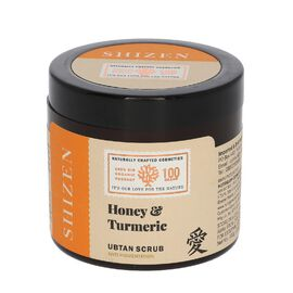 SHIZEN Honey Turmeric Ubtan Anti Pigmentation Face Scrub 100 Gms.
