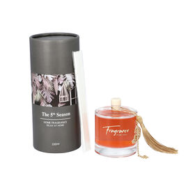 The 5th Season - 100ml Round Diffuser with Quicksand in Gift Box - Grey (Fragrance Cold Water)