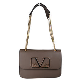19V69 ITALIA by Alessandro Versace Shoulder Bag with Magnetic Closure (Size 24x15.5x6Cm) - Brown