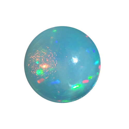 AA Ethiopian Opal Round 10 Cabochon 1.74 Cts