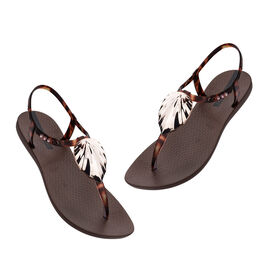 Ipanema Leaf Sandal Shine in Tortoise Shell