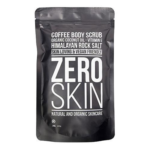 Zero Skin: Coffee Body Scrub, Eye Mask (x 10) & Konjac Face Sponge (With Free Black Face Mask)