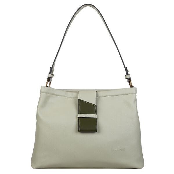 Bulaggi Collection - Goldie Hobo Shoulder Bag (Size 35x25x12 Cm) - Light Green