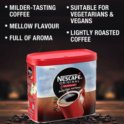 Nescafe: Original Coffee - 750g (Pack of 2)