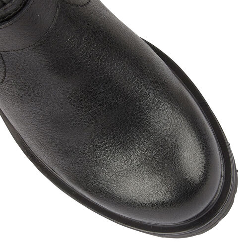Lotus Stressless Black Leather Scarlett Ankle Boots (Size 4)
