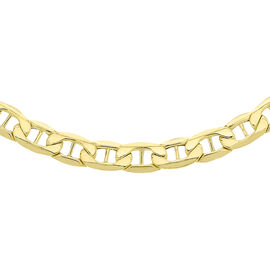 9K Yellow Gold Rambo Chain (Size 24), Gold wt 9.60 Gms.