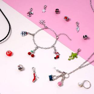 TJC Advent Calendar- 24 Pieces of Jewellery Including Necklace (Size 21.5), Bracelet,  Adjustable Ri
