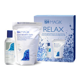 Dead Sea Spa Magik: Relax Gift Set (Incl. Bath Salt - 1KG & Bath Shower Gel - 350ml)