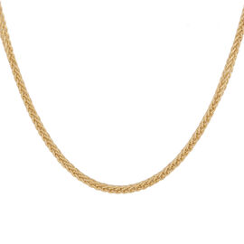 Italian Made - 9K Yellow Gold Chain (Size 22)