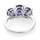 RHAPSODY 950 Platinum AAAA Tanzanite Ring 2.86 Ct