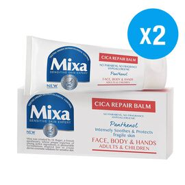 Mixa: Cica Repair Balm - Face, Body & Hands (Pack of 2)