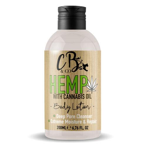 CB&CO: Hemp Body Lotion - 200ml