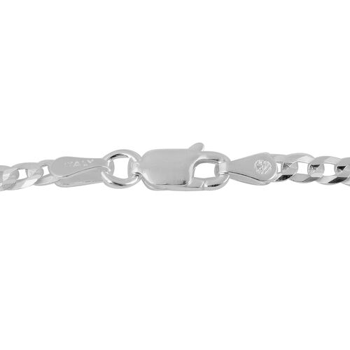 Made in Italy - Sterling Silver Chain (Size 20), Silver wt 5.56 Gms