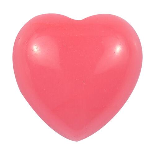 3.71 Ct AA Pink Jade Heart Shape (10 mm) With Box