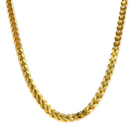 One Time Close Out Deal - 9K Yellow Gold Franco Necklace (Size 20), Gold wt 18.60 Gms.
