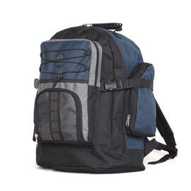 High Quality Backpack (Size 43x29x16cm) with Adjustable Padded Shoulder Strap, Side Mesh Pocket and