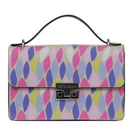 Bulaggi Collection - Robin - Leaves Print Crossover Handbag with Adjustable and Removable Strap (24x
