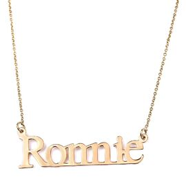 9ct Personalise Name Necklace
