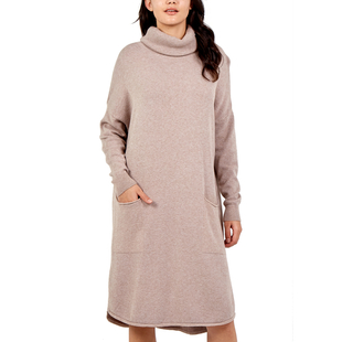 TAMSY Knitted Stretchable Dress - Black
