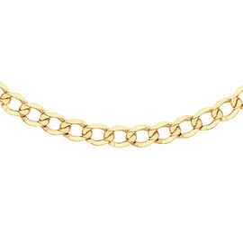 Hatton Garden Close Out 9K Yellow Gold Curb Chain (Size 20), Gold wt. 7.02 Gms