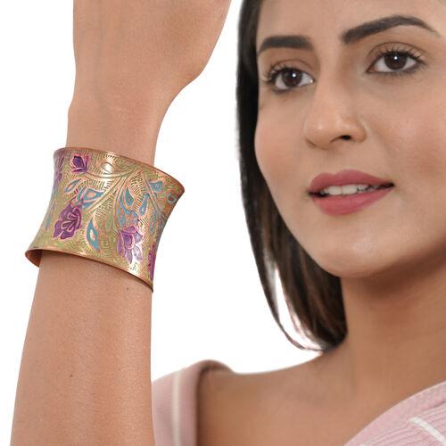 Patina Cuff Bangle