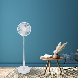 3 in 1 Portable and Foldable Fan with Four Wind Speed Settings and USB Cable