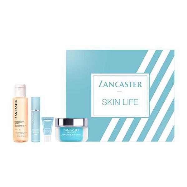 Lancaster: Skin Life Set (Incl. Micellar - 30ml, SP15 Primer - 3ml, Day Cream - 3ml, Eye Cream - 3ml