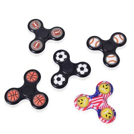 Set of 5 - Self Glowing Gaming Fidget Spinner