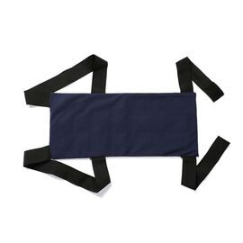 Natural Shungite Posture Correction Back Pad with Washable Cover (Size 53x22 Cm) 1.43 lbs - Navy