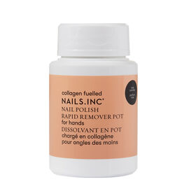 Nails Inc: Collagen Fuelled Nail Polish Remover Pot - Rose Scented (Set of 2)